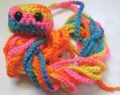 Neon Jellyfish Will Knock Your Socks Off .. Amigurumi Plush Toy