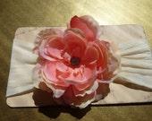 Vintage Rose Nylon Headband