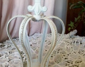 Beautiful, romantic,shabby,cottage,rhinestones,candle ,crown