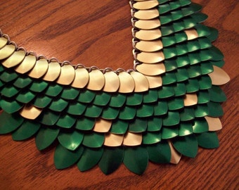 Elven Scale Necklace