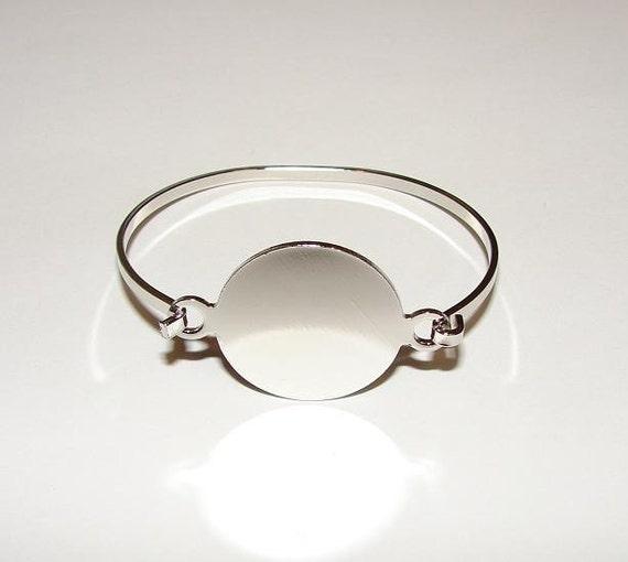 Bangle Bracelet Blanks Bracelet Blanks Silver Color