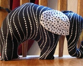 Yin-Yang Nelephant RESERVED FOR HANDMADE MN GIVEAWAY