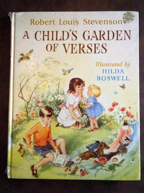 1963 Book Robert Louis Stevenson A Child 39 S Garden Of