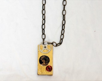 Upcycled Steampunk Pendant
