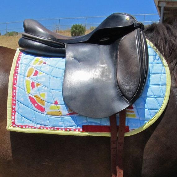 Jumper Saddle Pad Equine Couture Art Saddle Pad