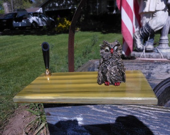 Owl Pen Holder- Desk Accessory
