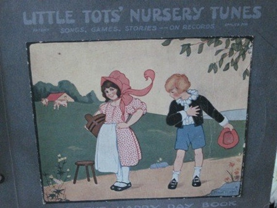 Little Tots Nursery Tunes Collector Record Album Set