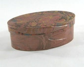 Marbled Shaker Box
