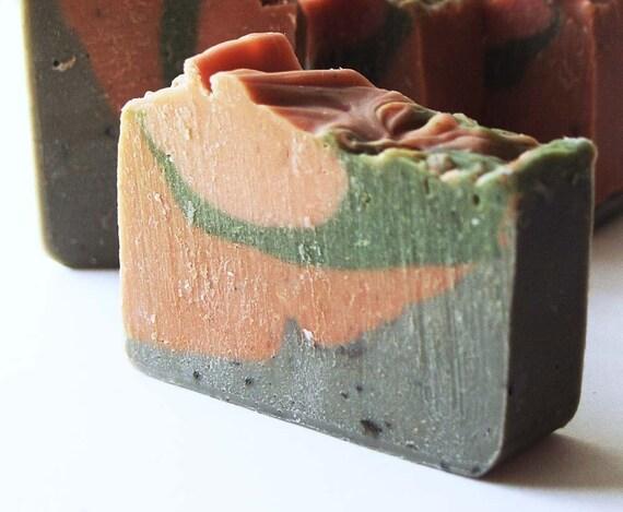 Quadruple Clay Spa Bar   (Cold Process Soap)