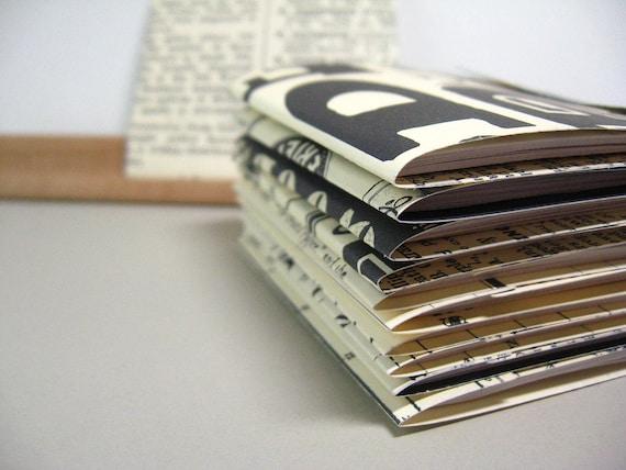 12 Large Matchbook Notepads - Newsworthy