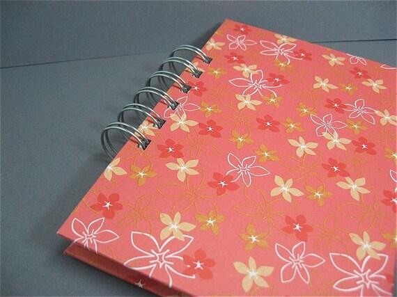 Sketch Book or Journal Sweet Petunia