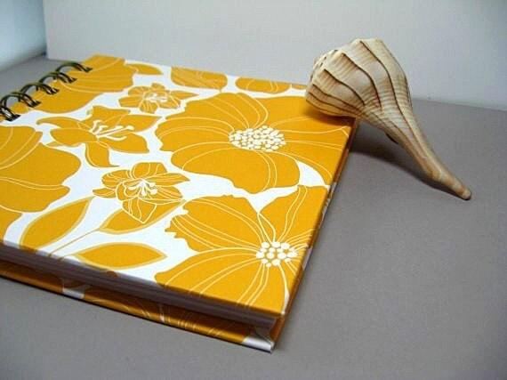 Sketchbook or Journal - Yellow Hibiscus