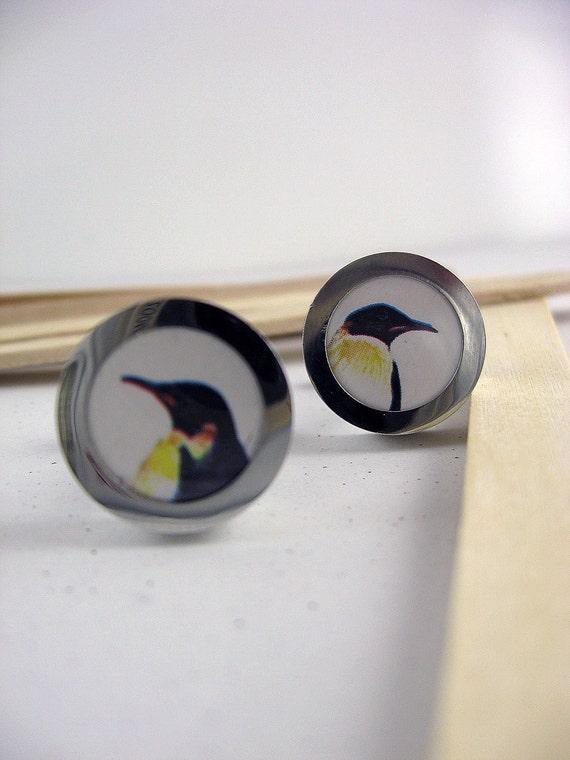 Cuff Links Tuxedo Penguins
