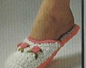 Crochet Slipper Pattern PDF  (TT6)