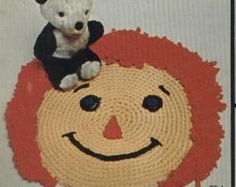 Crocheted Rug Pattern (TT1)  PDF - This N That