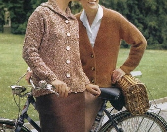 Vintage Knitting Pattern - PART 7-COLORFUL ILLUSION