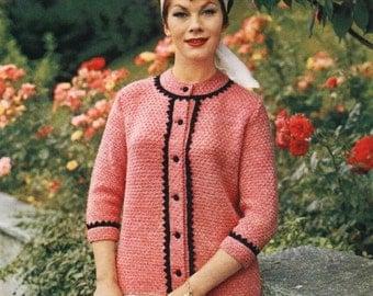 Vintage Knitting Pattern - PART 12- UNDERSTATED ELEGANCE