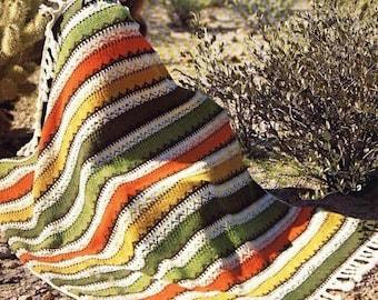 Knit Afgan Pattern - TRIBAL
