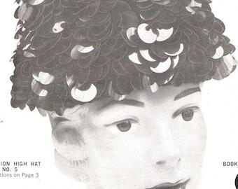 Crochet Bangle Hat Pattern - Pdf - HIGH HAT