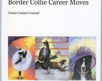 Border Collie dog artbook 77 images Canine Career Moves