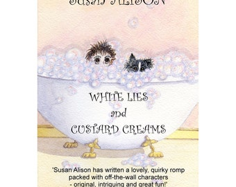 Novel - romantic comedy with a dash of mystery - White Lies and Custard Creams