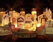 Instant Cemetery Display Set 1