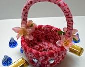 Rag Basket Valentine Mini