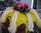 Lucious Lemon Cream Cheesecake