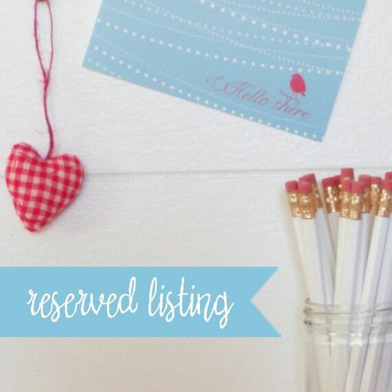 Reserved listing for krystleskrafts