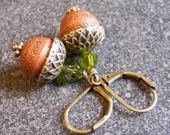 Perfect Acorn Earrings