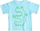 Kids THIRD BIRTHDAY MONSTER T Shirt