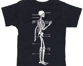 Skeleton Tshirt,  baby, toddler, kids