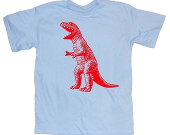Mens T-REX DINOSAUR T-shirt - As seen on The Big Bang Theory