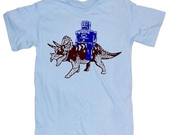Mens ROBOT T Shirt   s m l xl xxl