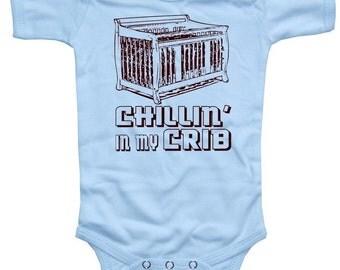 Baby CHILLIN In My CRIB Bodysuit