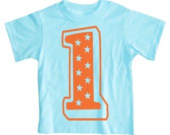 Superstar Birthday Shirt - Number 1