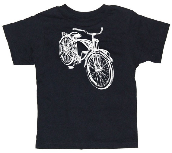 Vintage Schwinn Bicycle Baby or Toddler Short Sleeve Retro T-Shirt in 6 Months, 12 Months, 18 Months, 2T, 3T, 4T or 6T