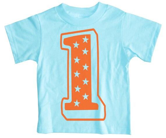 Kids SUPERSTAR 1st Birthday T-shirt
