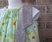 DRESS SALE Daisy Path in Robin's Egg Blue Pillowcase Dress or Top...12 18 24 2T 3T 4T 5 6 7 8