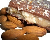 Sinfully Rich Milk Chocolate Almond Toffee 1\/2lb