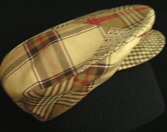 UNISEX Golf Cap Bakerboy Cap Newsboy Cap Reversible Fabric Hat Headwear