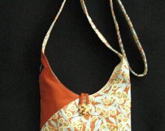 Australian Souvenir Gum Tree Print  Shoulder Bag