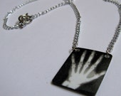 X-Ray Project Hand Necklace