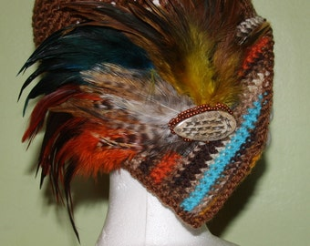 Fancy Flapper Hat - Special Order- choose your color(s)