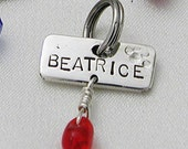 SALE - Personalized Pet Tag - tiny size