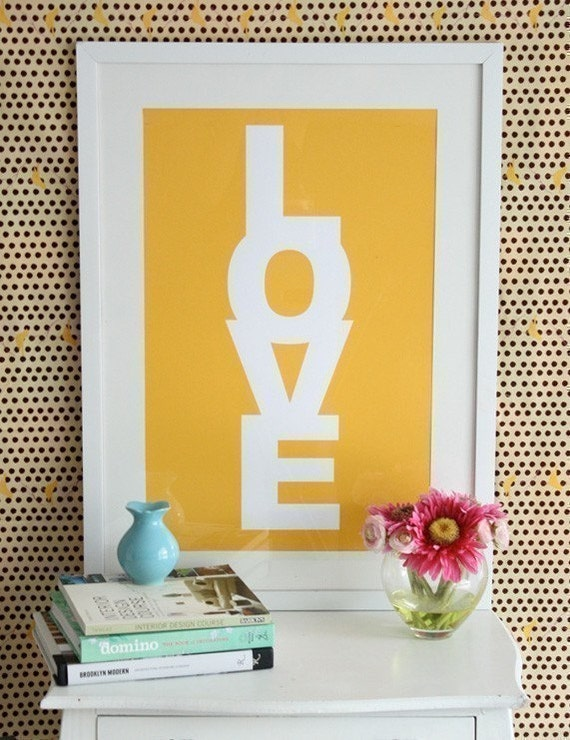 LOVE CANDY- Lemon (Screen Printed)