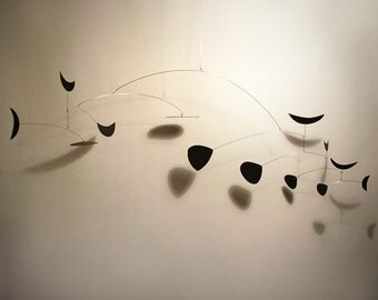Art Mobile Rolly Abstract Retro Vintage 1954 MCM styled Calder Influence Modern Home Decor