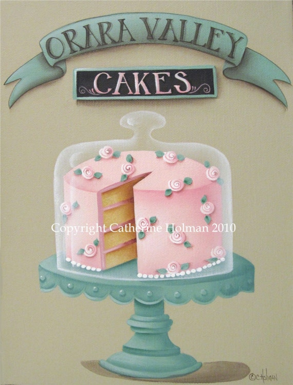 Cake Print Orara Valley Cakes
