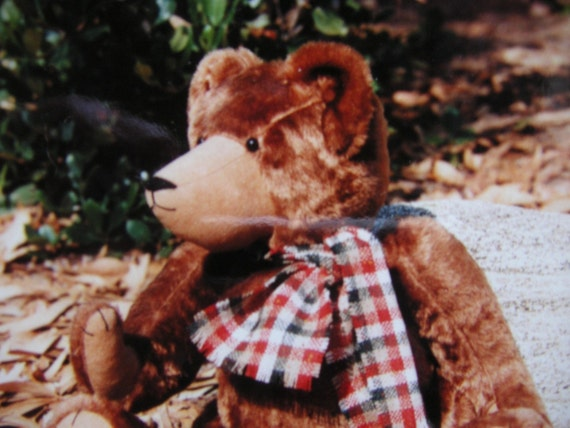 Vintage Bear Sewing Pattern, Mr Bumbles