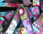 READY To SHIP-15 Fabric Key chain Key Fobs/Wristlet -That's 5.00 a Piece